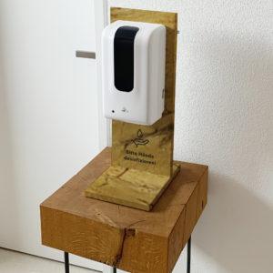 Desinfektionsständer Mini Holzbutiq